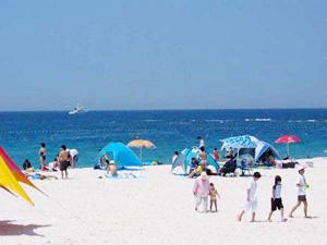 白浜温泉 白良浜ビーチ